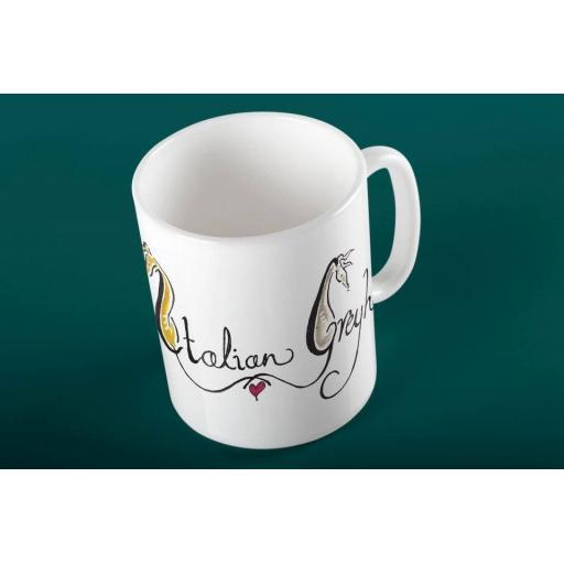 Italian Greyhound 11oz mug