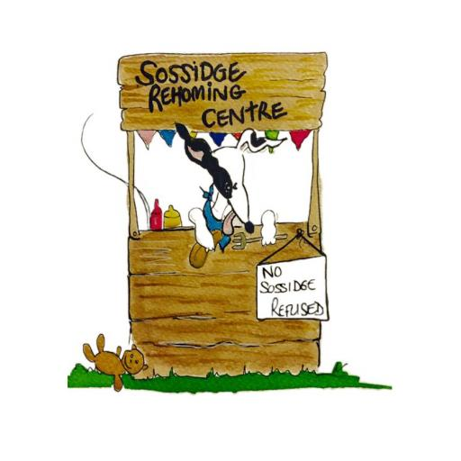 Sossidge Rehoming Centre - A4 print by Nellie Doodles