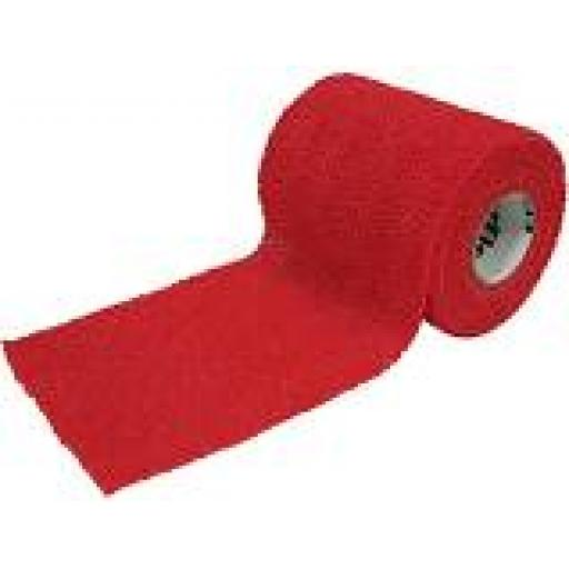 "Powerflex 4"" wide - red, grey or black non glitter"