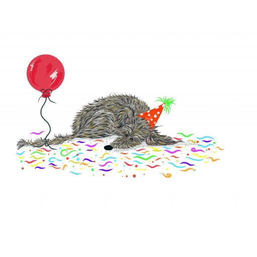 Party Animal - by Nellie Doodles -