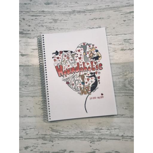Nellie Doodles Houndaholic Planner Diary