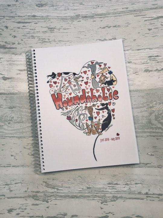 Nellie Doodles Houndaholic Planner
