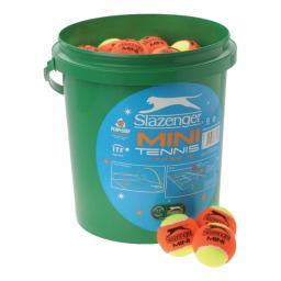 Slazenger LTA Mini Tennis Orange Balls (5 Dozen Bucket).jpg
