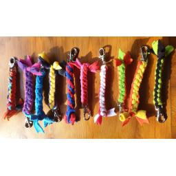 Braided Keyrings/Charms