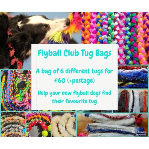 Flyball Club Tug Bags - offer for April 2019
