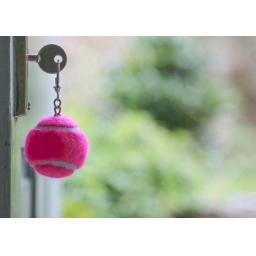 Tennis Ball Keyrings