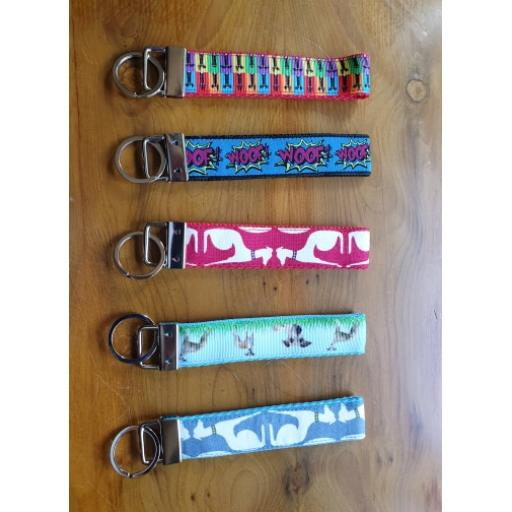 Sighthound Key Fobs - various designs